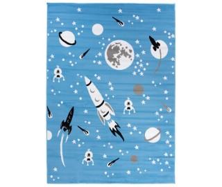 Detský koberec - raketa