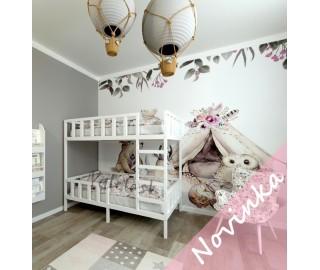Detská poschodová posteľ