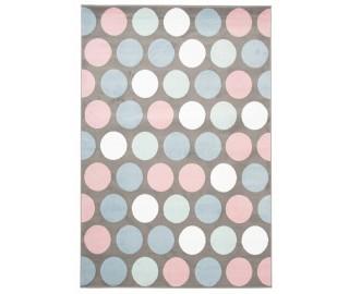 NOVINKA - Detský koberec - guličky