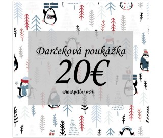 Darčeková poukážka - 20€