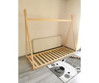 SKLADOM - Teepee detská posteľ 200x80
