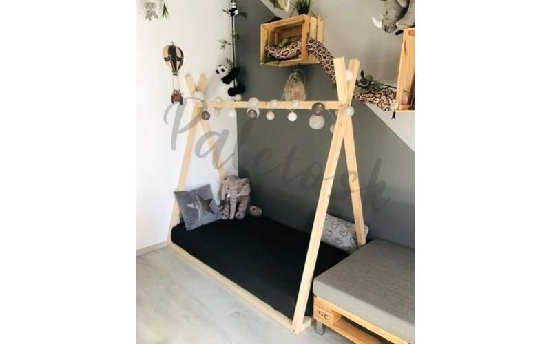 Teepee detská posteľ